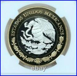 2011 Mexico Silver 100 Pesos 1914 Caballito Peso Ngc Pl 69 Beautiful Scarce Coin