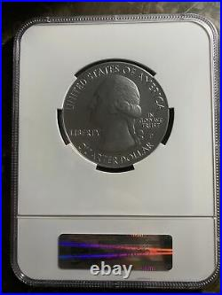 2012 5 oz El Yunquesilver coin. 999 america the beautiful
