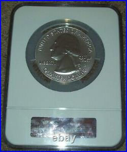 2013 PEACE MEMORIAL ATB AMERICA BEAUTIFUL 5 OZ. SILVER NGC MS69DPL Early Release