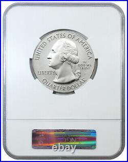 2013 P White Mountain 5 oz Silver ATB America Beautiful Specimen Coin NGC SP69