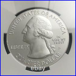 2013-p White Mountain Atb America Beautiful 5 Oz. Silver Ngc Sp70 Early Releases