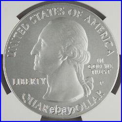 2014 P Shenandoah America the Beautiful 5 Oz Silver Coin NGC SP70 Early Releases