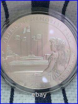 2019 5-Ounce Silver America the Beautiful American Memorial Park Mariana Islands