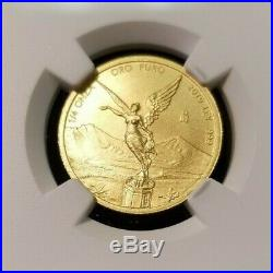 2019 Mexico Gold Libertad 1/4 Onza Ngc Ms 70 First Releases Perfect Beauty