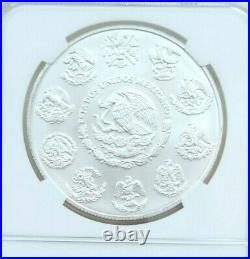 2020 Mexico Silver Libertad 1 Onza Ngc Ms 70 Low Mintage Beautiful Perfection
