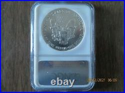A Beautiful 1989 Silver Eagle NGC MS70 NGC Value$1425.00 Asking $825.00