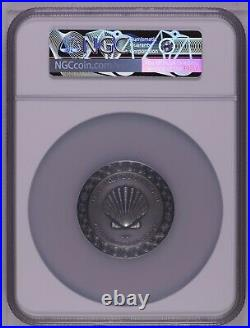 NGC MS69 FR BIRTH OF VENUS Celestial Beauty 2Oz Silver Coin Cameroon 2021