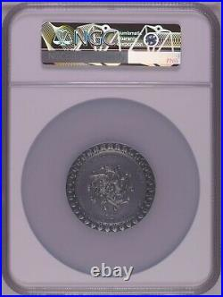 NGC MS70 Cameroon 2021 Celestial Beauty Fortuna Silver Coin 2oz COA