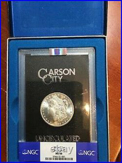 Ngc Ms66 1883 CC Gsa Morgan Dollar With Box Wow What A Beautiful Coin