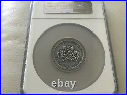 The Three Graces Beauty 2 oz Antique finish Silver Coin Cameroon 2020 NGC MS70